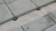 9mm Rubber Support Pads For Paving Slabs Wallbarn