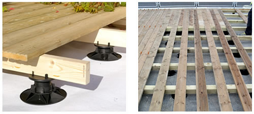 Td Support Pedestals For Timber Decking Wallbarn