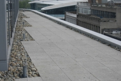 Adjustable paving pads finshed terrace Plantation Place Fenchurch Street