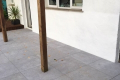 Balance self levelling pedestals on patio project