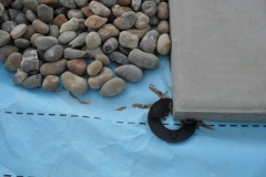 9mm rubber paving rings for concrete flags