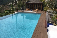 Bare feet friendly composite decking iDecking