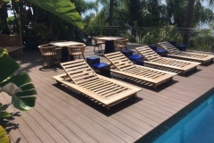 Bare feet friendly decking iDecking