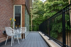 Beautiful luxurious composite decking