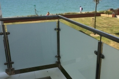 Composite decking balcony project East Wittering