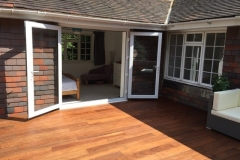 IPE decking domestic terrace project