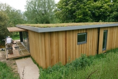 M-Tray green roof on garden room 1