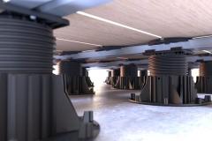 Mega-Balance-Self-Levelling-Pedestal-with-Ceramic-Tile-Rail
