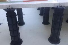 Megapad adjustable paving pedestals underside view