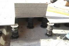 Megapad for paving lifting slab