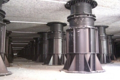 Megapad for paving underside view