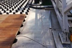 TD Megapad adjustable decking pedestals decking install Qatar