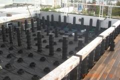 TD Megapad adjustable pedestals for terrace decking project
