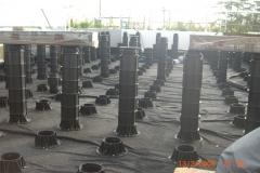 TD Megapad adjustable pedestals terrace decking project