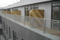 TD Megapad decking support pad with decking terrace