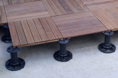 How to install decking on supports