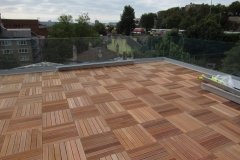 How to lay decking on flat roofs