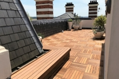 5How to refurbish a terrace with timber tiles step 5