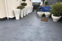 Refurbish roof terrace with hardwood timber tiles step 3