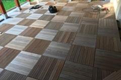 Refurbishment of domestic terrace Romania using tiles