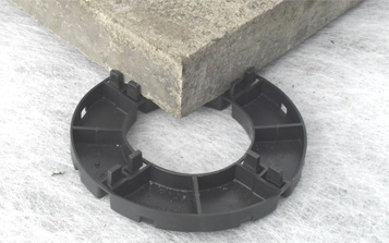 Plastic Fixed Height Support Pads
