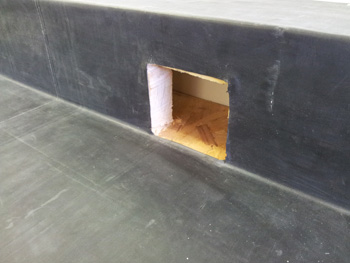 Corner / Parapet / Through Wall Outlets in EPDM