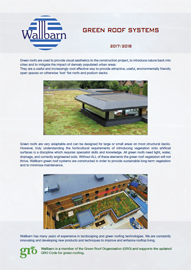 M-Tray Green Roof Brochure