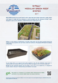 M-Tray Modular Green Roof System