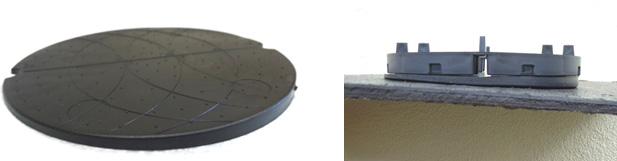 Slope Correctors for fixed height paving pads