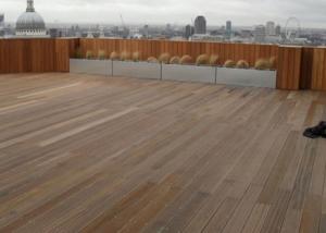 Aldersgate, London - Adjustable Timber Support Pads
