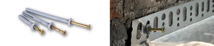 Hammer fixed metal dowels