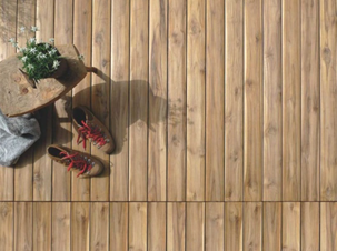 Modular Hardwood Timber Decking Tiles