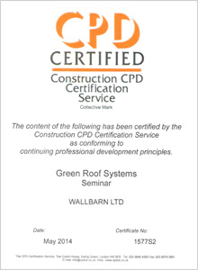 Green Roof CPD