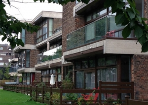 Former Lilian Bayliss School, London - Decking Installation