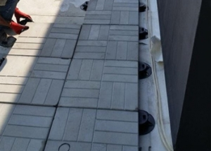 White City Hotel, Baku, Azerbaijan - Paving Installation