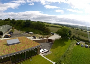 Cattle Hill Quarry, Vale of Yorkshire - M-Tray Green Roofing Installation