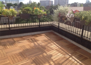Kennington, London, UK - Decking Installation