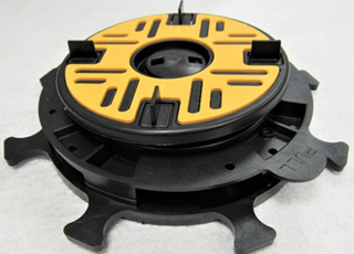 Step 4 – with 1 extension plate – 40-45mm