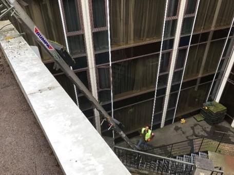 Re-greening Radisson Blu Hotel, Heathrow