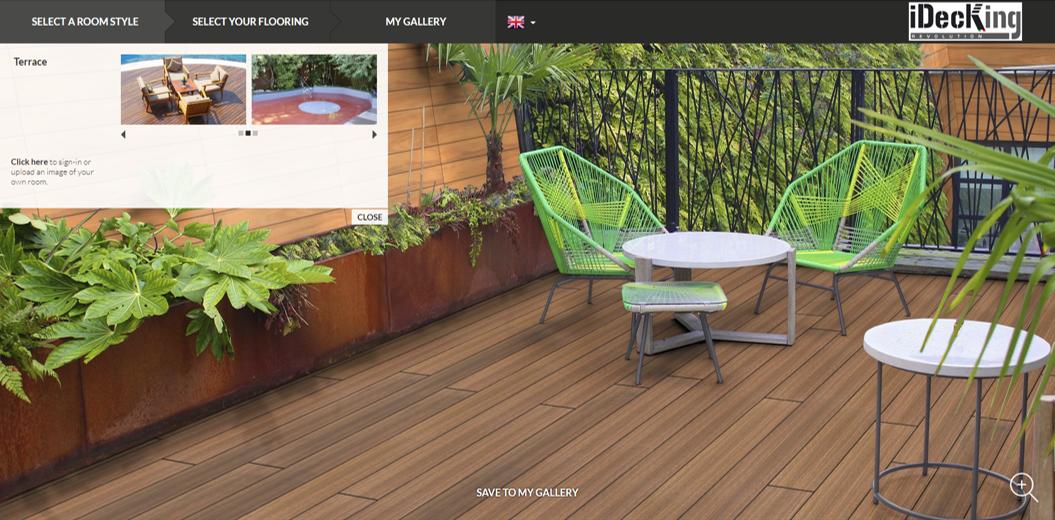 A screenshot of our deckplanner software