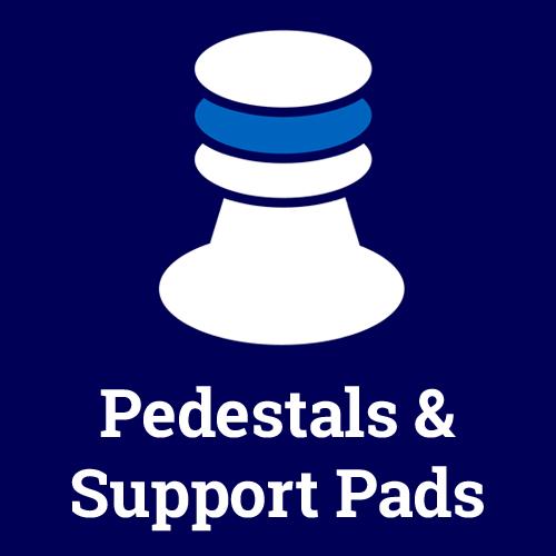 Pedestals & Support Pads Logo