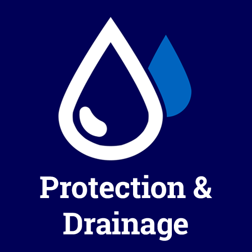 Our protection and drainage logo