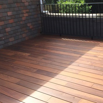 An image of Tropical Hardwood decking tiles