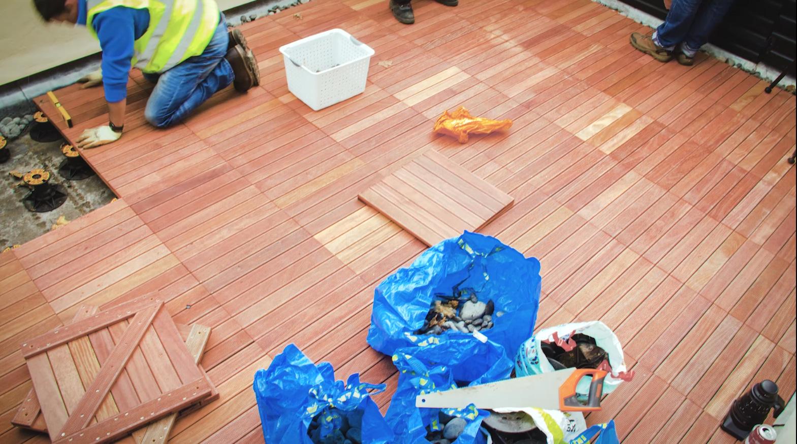 Timber Tiles, Stoke Newington, London (New!)