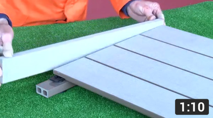 How To Install A Rigid Decking Framing Profile