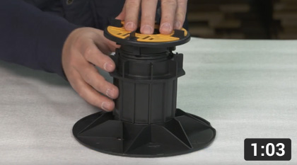 How To Assemble Our 'Balance Extra' Self-levelling Pedestal