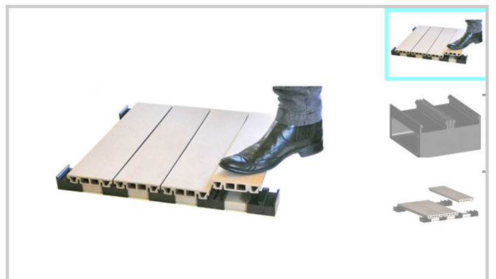 Introducing the New Easy To Install Timber Decking System