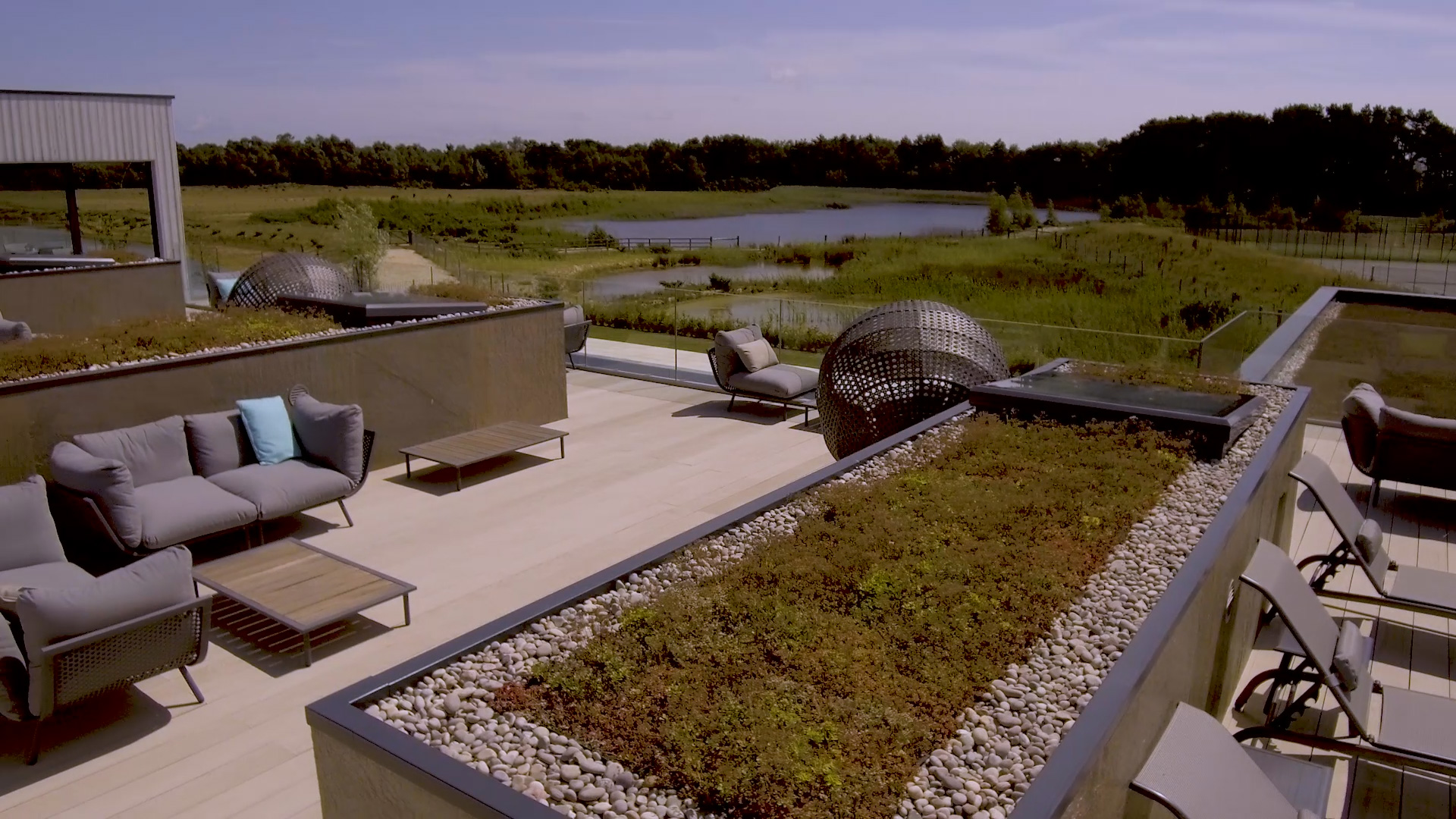 M-Tray® green roof, West Dorset