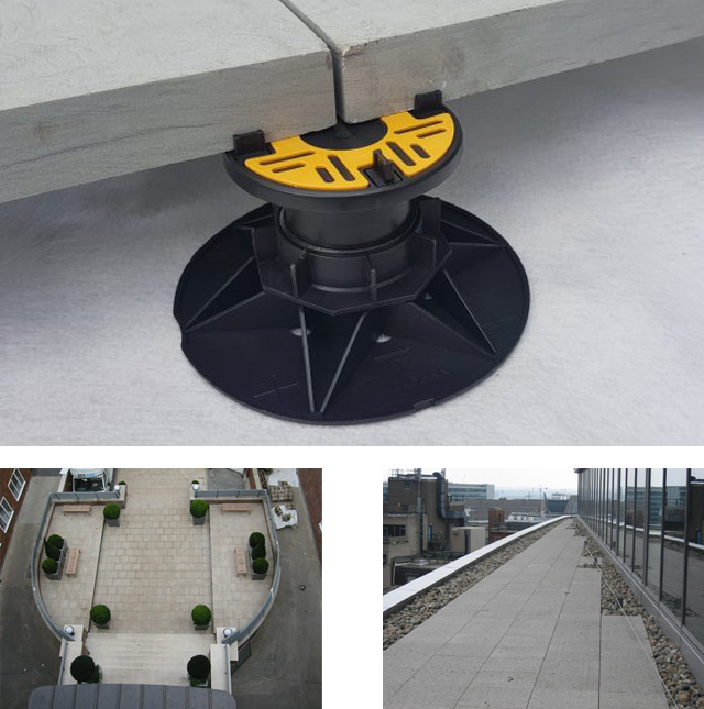 Adjustable Pedestal Paving Applications