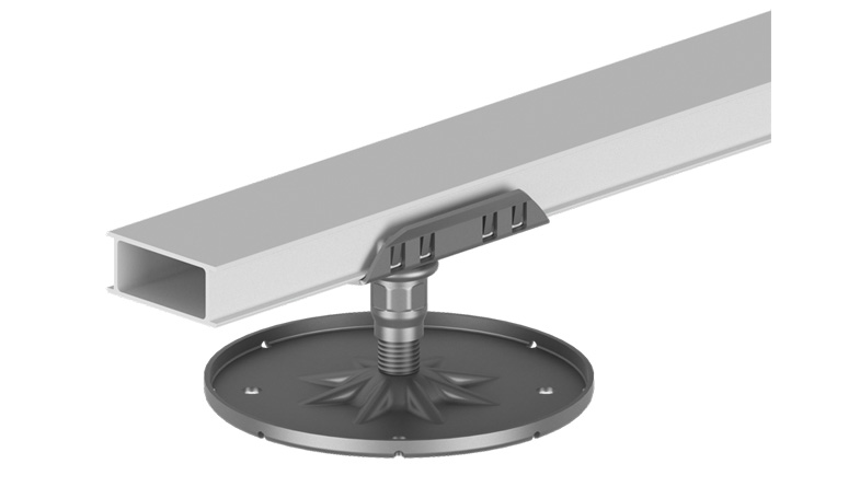slide-MetalPad-A1---Click-Head-connected-to-25mm-Rail